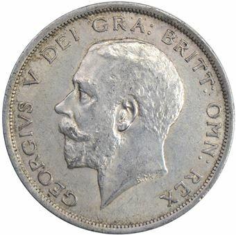 Picture of George V,  Halfcrown, 1916