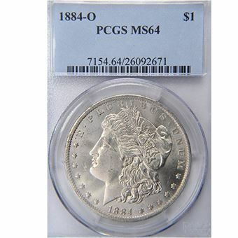 Picture of United States of America, 1884 'O' Morgan Silver Dollar, Choice BU