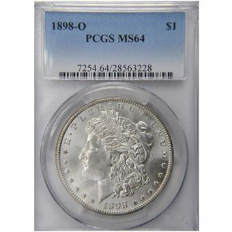 Picture of United States of America, 1898 'O' Morgan Silver Dollar, Choice BU