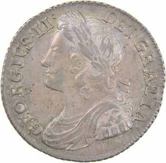 Picture of George II, Shilling (Roses), 1739