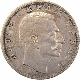 Picture of Serbia, Dinar 1904