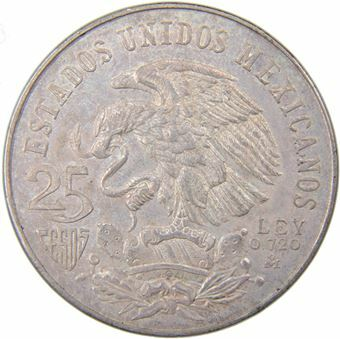 Picture of Mexico, Olympic 25 Pesos 1968