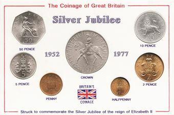 Picture of Elizabeth II, 1977 Mint Set Special