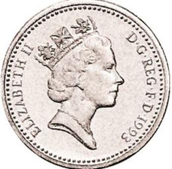 Picture of Elizabeth II, £1 1993 Proof Sterling Silver