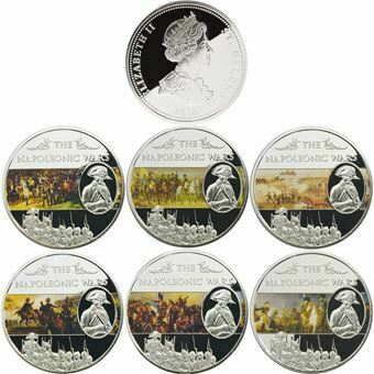 Picture of St. Helena, Napoleonic Wars Set of 6