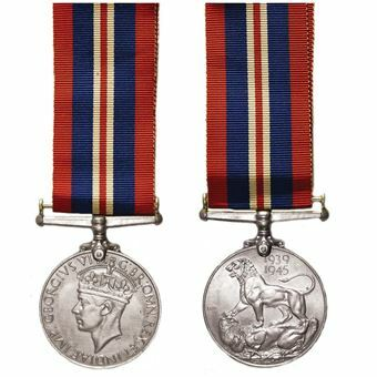 Picture of Pair of World War II Medals