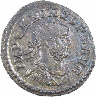 Picture of Carinus AE. Antoninianus, Rev. AETERNIT AVGG