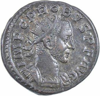 Picture of Probus, AE Antoninianus, Rev. ABVNDANTIA AVG