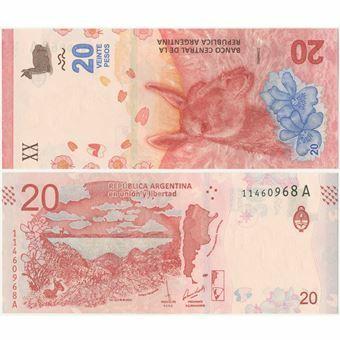 Picture of Argentina 20 Pesos (2017) P-New Unc