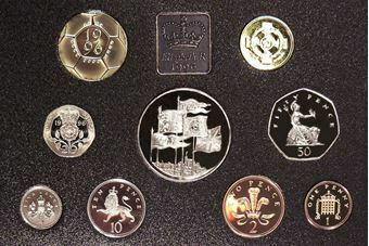 Picture of 1996 Proof Set