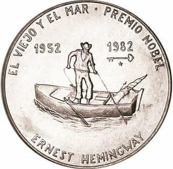 Picture of Cuba, 1 Peso Man in Boat