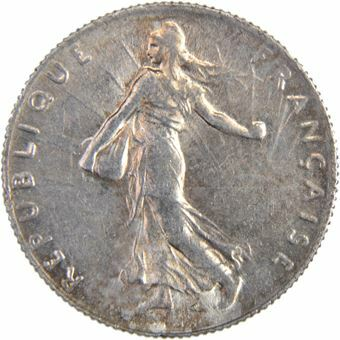 Picture of France, 1/2 Franc 1919
