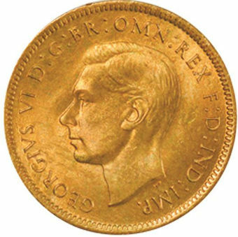 Picture of George VI, Farthing 1942 Unc