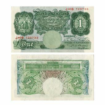 Picture of P S Beale £1 Britannia B268 Fine