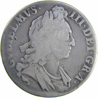 Picture of William III, Crown 1695 Very Good-Fine