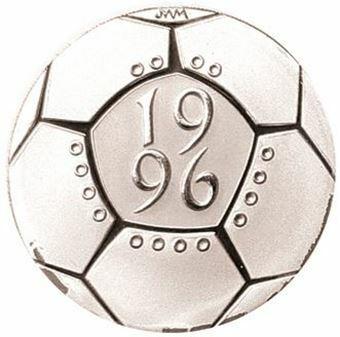 Picture of Elizabeth II, £2 Football Silver Piedfort, 1996