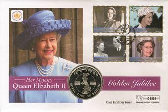 Picture of Crown Cover Golden Jubilee British Indian Ocean