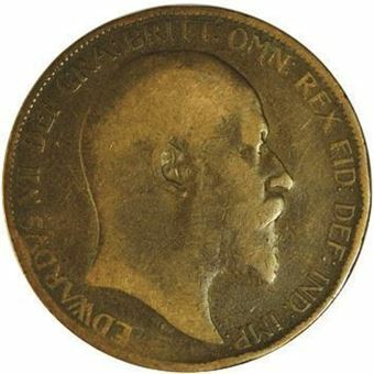 Picture of Edward VII, Complete Penny Set