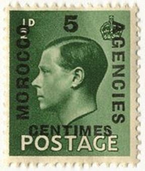 Picture of Edward VIII 1/2d Morocco 100 Stamps