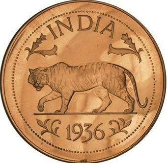 Picture of India, Edward VIII India Brass