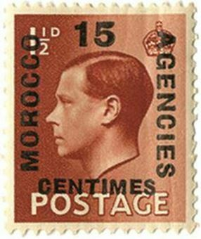 Picture of 20 x Edward VIII 15c Morocco