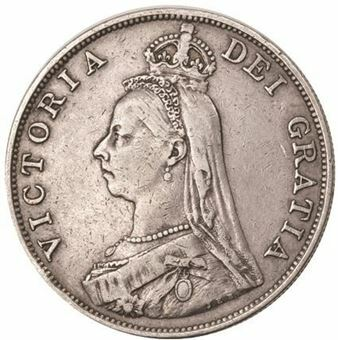 Picture of Victoria Double Florin Very Fine