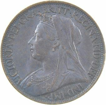 Picture of Victoria, Farthing 1898