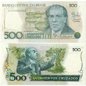Picture of Brazil 500 cruzados P212 Unc