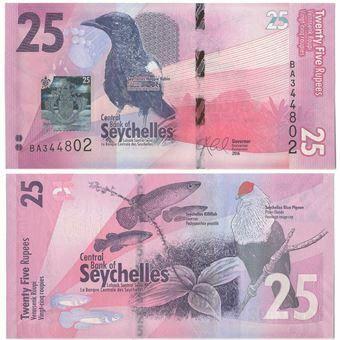 Picture of Seychelles 25 Rupees 2016 P48 Unc