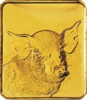 Picture of Royal Mint Zodiac Pig (1995)
