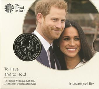 Picture of Royal Wedding £5 BP 2018