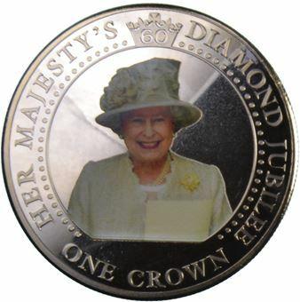 Picture of Tristan da Cunha, Diamond Jubilee Crown 2012