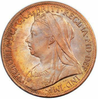 Picture of Victoria, Penny 1901 Brilliant Uncirculated