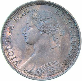 Picture of Victoria, Farthing 1873
