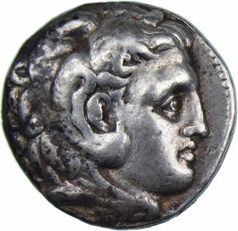 Picture of Alexander the Great Tetradrachm VF