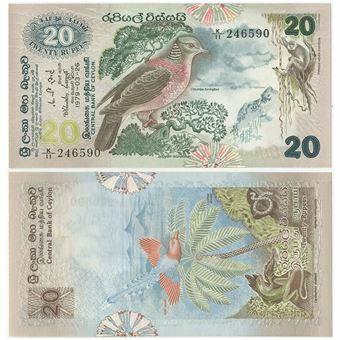 Picture of Ceylon 20 Rupees 1979 P86a Unc