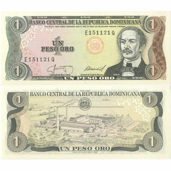 Picture of Dominican Republic 1 Peso P126a Unc