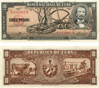 Picture of Cuba, 10 Pesos 1960 Che  P88c Unc