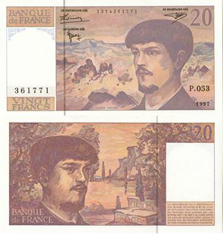 Picture of France, 20 Francs 1987-1997 P151 Unc