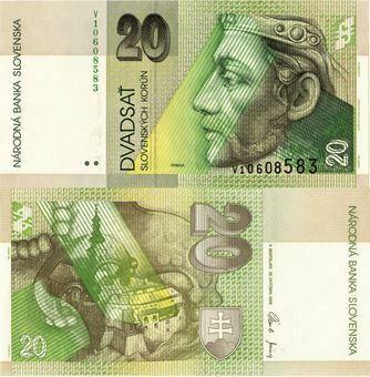 Picture of Slovakia 20 Korun P20 Unc