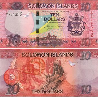 Picture of Solomon Islands 10 Dollars P-New Unc