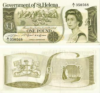 Picture of St Helena  £1 P9 Unc