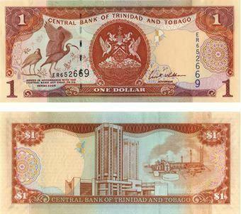 Picture of Trinidad & Tobago 1 Dollar Series 2006 P46 Unc