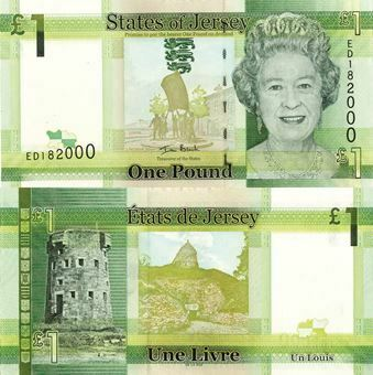 Picture of Jersey £1 2010 P32 Unc
