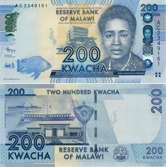 Picture of Malawi 200 Kwacha 2012 P60 Unc