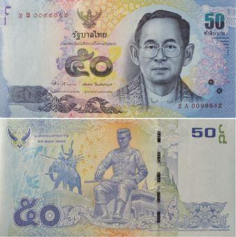 Picture of Thailand 50 Baht P112 Unc Paper