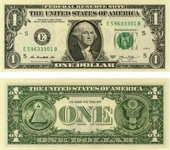 Picture of United States of America, 1 Dollar 2013 P537 Unc