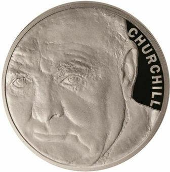 Picture of Solomon Islands, £5 Churchill Silver Proof 2015