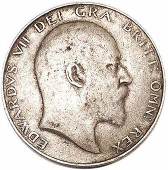 Picture of Edward VII, Halfcrown Fine