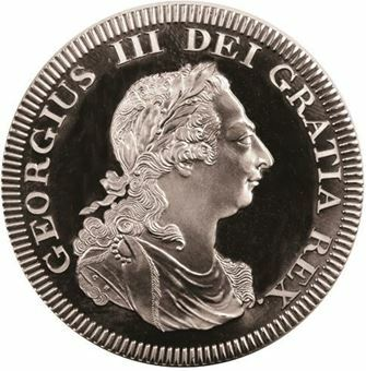 Picture of George III, Ceylon Patina Pewter